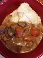 Beef Stew and Mashed Potato Bowl