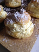Meyer Lemon Cream Puff