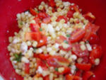 Summer Recipe #6- Corn and Blue Cheese Salad
