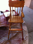 Why I am not baking. Part 5- The highchair.