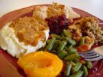 My first Thanksgiving dinner.....