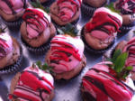 Chocolate Covered Strawberry Cupcake (NEW)