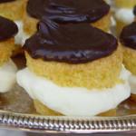 Boston Cream Pie cupcakes....
