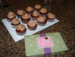24 Peanut Butter Cup Cupcakes = 1 Scentsy Brick Candle