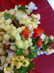 Sweet Corn and Blue Cheese Salad